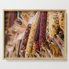 Indian Corn 6 Serving Tray