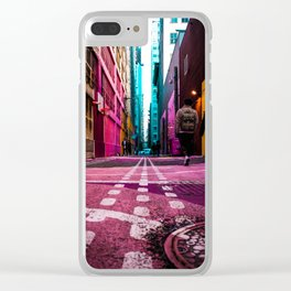 Alley Art Clear iPhone Case