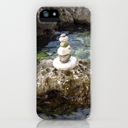 Sea and stone iPhone Case