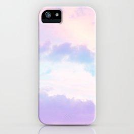 Unicorn Pastel Clouds #1 #decor #art #society6 iPhone Case
