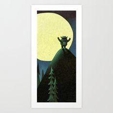 On The Loose Art Print