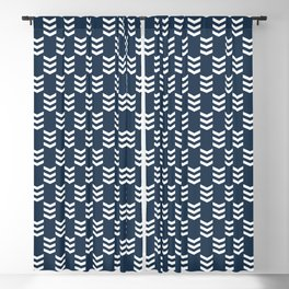 Nautical arrows 2 Blackout Curtain