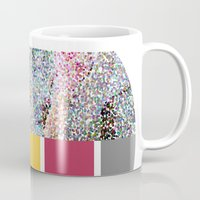 klaine Mugs featuring Celebrate Color by Jen K