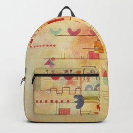 Wassily Kandinsky Graceful Ascent Painting Backpack