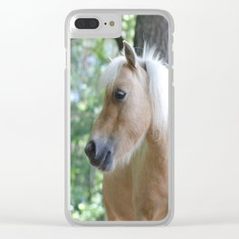 Palomino Clear iPhone Case