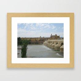 Castle on the River Framed Art Print