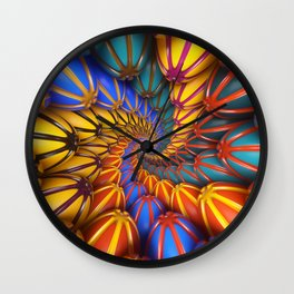 Party Tunnel Wall Clock