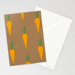 Carrot Stationery Cards
