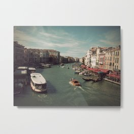 Vintage Venice Metal Print