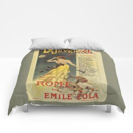 Rome by Emile Zola Comforters