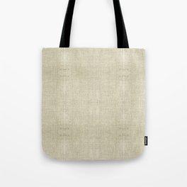 """""""Nude Burlap Texture"""" Tote Bag"""