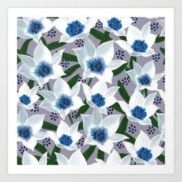 Blue Jean Baby Art Print