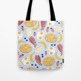 Breakfast Food Tote Bag