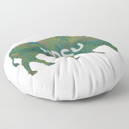 NDSU Bison Floor Pillow