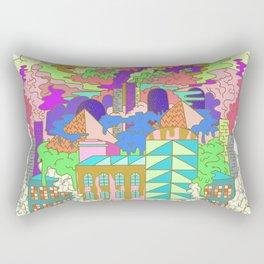 Acid Factory Rectangular Pillow