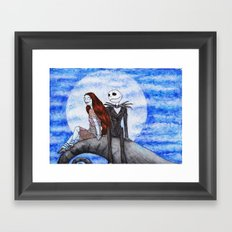 Something in the Wind... Framed Art Print