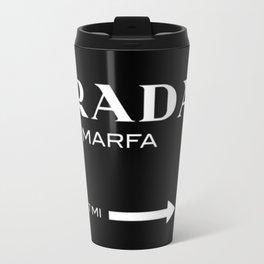 Black Marfa Travel Mug