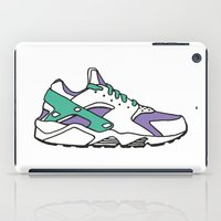 sneakers iPad Cases featuring SNEAKERS COLLECTION by Vincent Battault