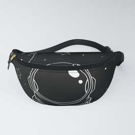 Astronaut and Asteroids Fanny Pack