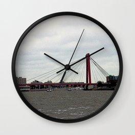 Rotterdam Retro Wall Clock