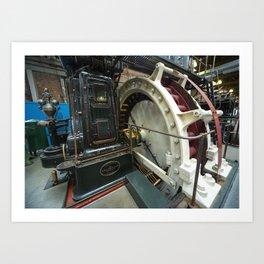 Ferranti Generator Art Print