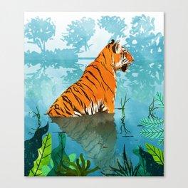 Tiger Creek Canvas Print