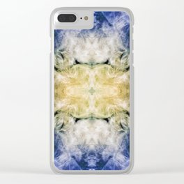 237 - abstract smoke design Clear iPhone Case