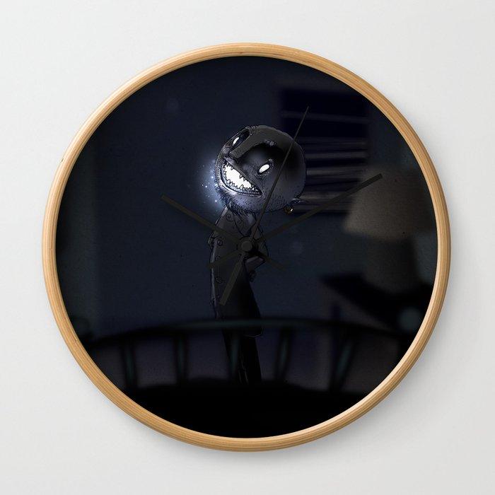 l'Uomo Nero Wall Clock