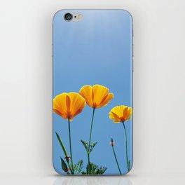 Poppy Daydream iPhone Skin