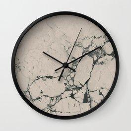 Nude Marble Wall Clock