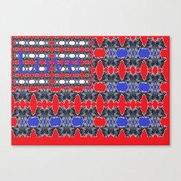Love flag Canvas Print