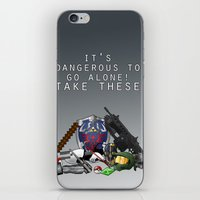 gamer iPhone & iPod Skins featuring Gamer  by Ioana Muresan