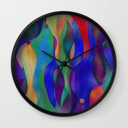 Colorflow Wall Clock