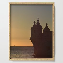 Belem Tower Serving Tray