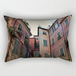 windows of Cinque Terre Rectangular Pillow