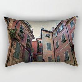 windows of Cinque Terre Rectangular Pillow