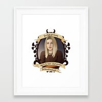 buffy the vampire slayer Framed Art Prints featuring Tara - Buffy the Vampire Slayer by muin+staers