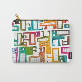 Tetris Monsters Carry-All Pouch