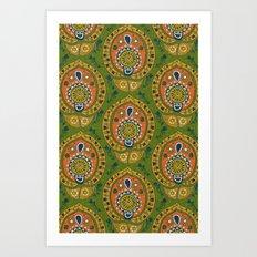 safa green Art Print
