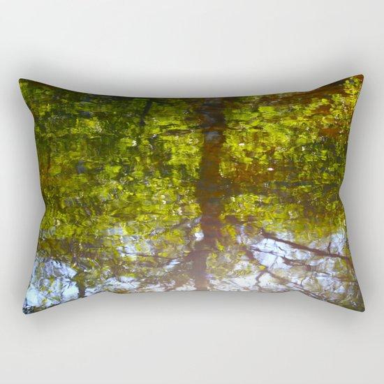 Summer Reflection Rectangular Pillow