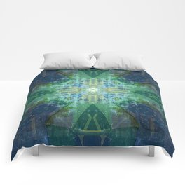 Emerald Architecture Comforters