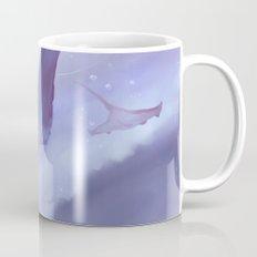Drop in a purple ocean Mug