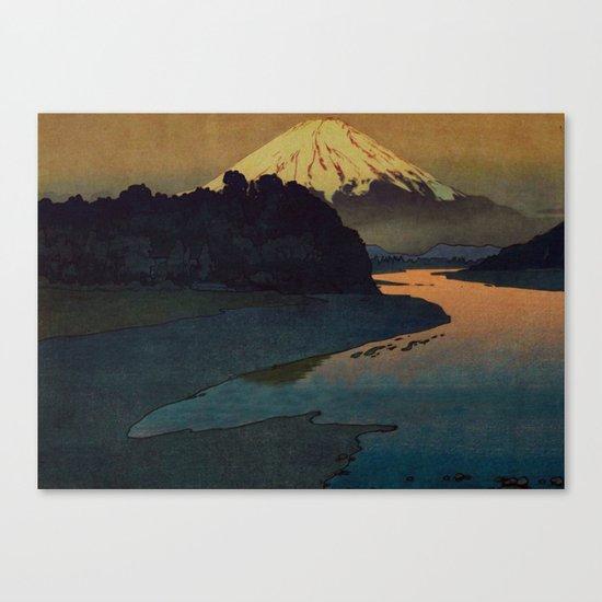 Sunset at Aga Canvas Print