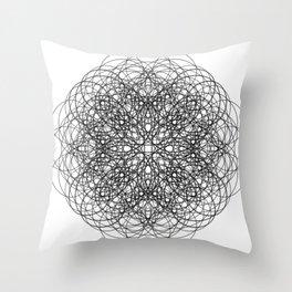 Circle Splendor 12 Throw Pillow