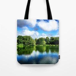 Clear & Blurry  Tote Bag