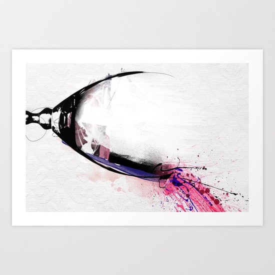 broken dreams Art Print