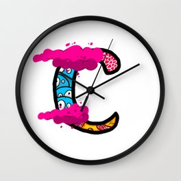 initial C Wall Clock