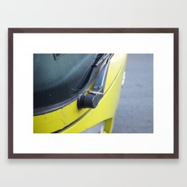 Italian Smoke Break Framed Art Print