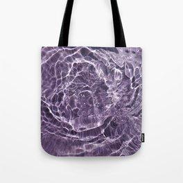 Lilac Bubbles Tote Bag