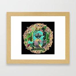 """""""la musicienne""""/""""The singer girl"""" Framed Art Print"""